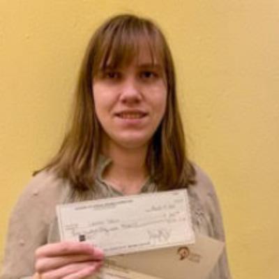 Congratulations Academy scholarship recipient Lauren Stein