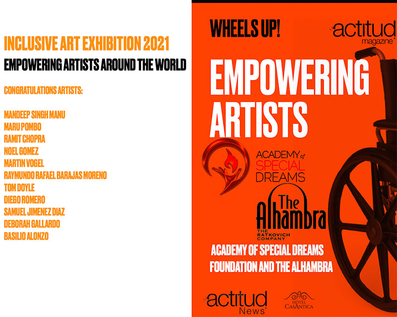 Wheels Up Empowering Artists Virtual Gallery 2021